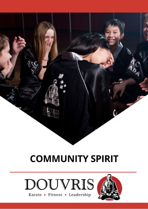 Community Spirit Program by Douvris